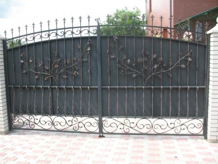 Ковані ворота (В-150)