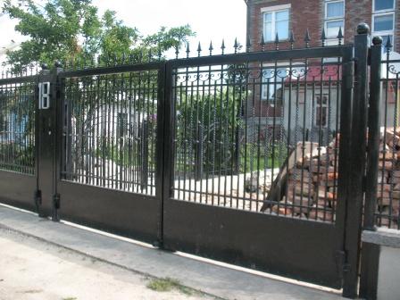 Ковані ворота (В-8)