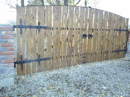 Ковані ворота (В-94)