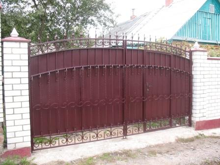 Ковані ворота (В-14)