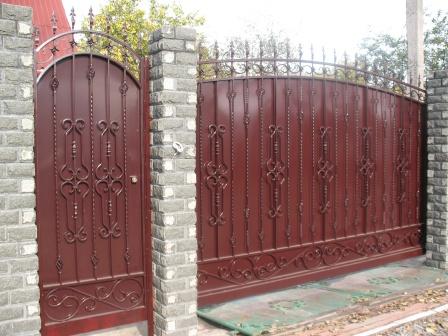 Ковані ворота (В-20)