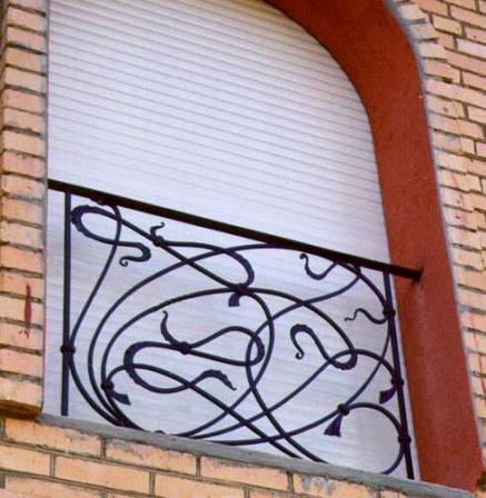 Віконна решітка (Р-41)