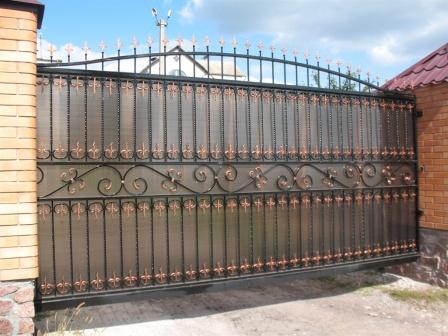 Ковані ворота (В-138)