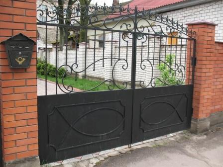 Ковані ворота (В-147)