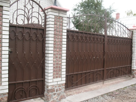 Ковані ворота (В-15)