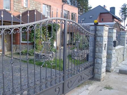 Ковані ворота (В-76)