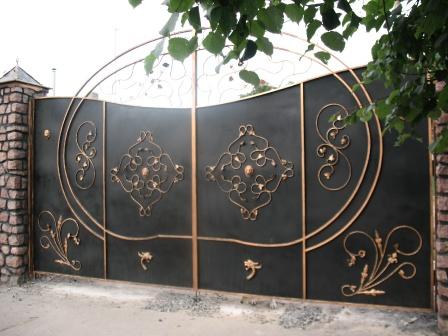 Ковані ворота (В-50)