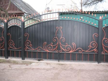 Ковані ворота (В-127)