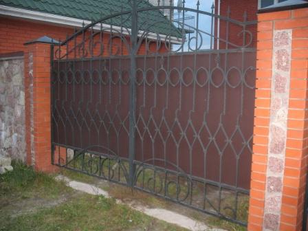Ковані ворота (В-24)