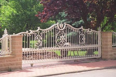 Ковані ворота (В-84)