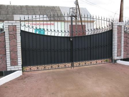 Ковані ворота (В-11)