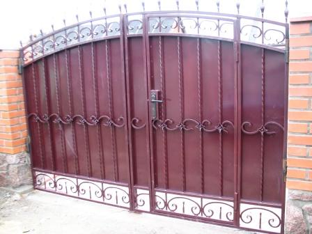 Ковані ворота (В-45)