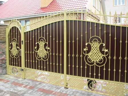 Ковані ворота (В-140)