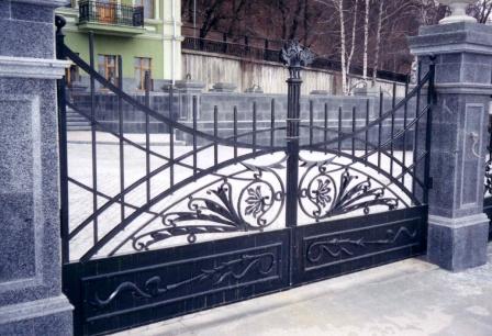 Ковані ворота (В-87)