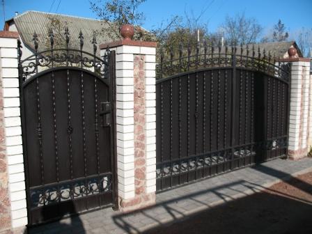 Ковані ворота (В-27)