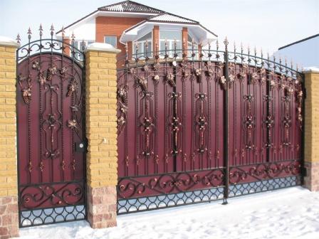 Ковані ворота (В-125)