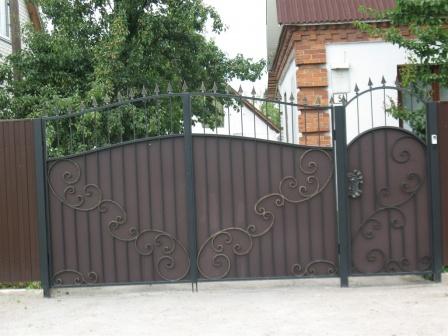 Ковані ворота (В-118)