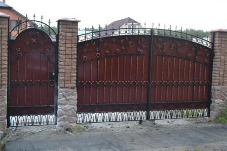Ковані ворота (В-167)