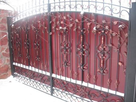 Ковані ворота (В-10)