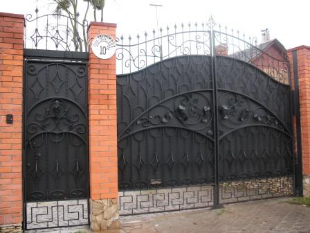 Ковані ворота (В-30)