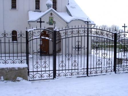 Ковані ворота (В-79)