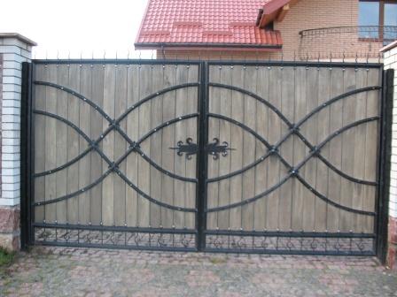 Ковані ворота (В-58)
