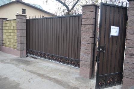 Ковані ворота (В-161)