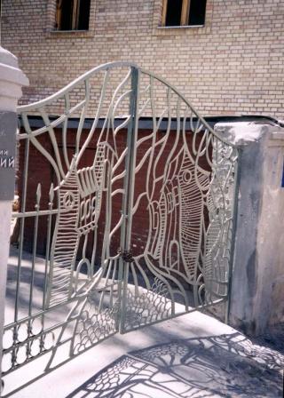 Ковані ворота (В-90)
