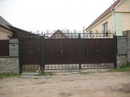 Ковані ворота (В-111)