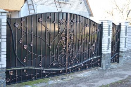 Ковані ворота (В-166)