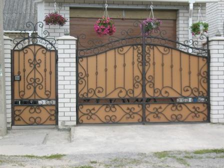 Ковані ворота (В-120)
