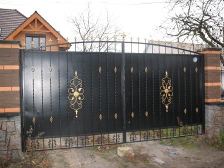 Ковані ворота (В-57)