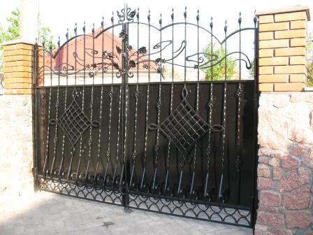 Ковані ворота (В-66)