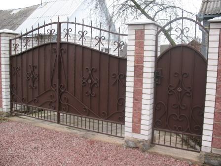 Ковані ворота (В-35)