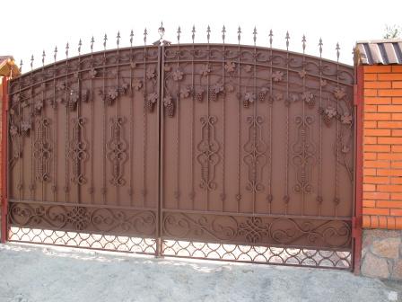 Ковані ворота (В-65)