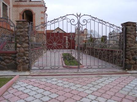 Ковані ворота (В-73)