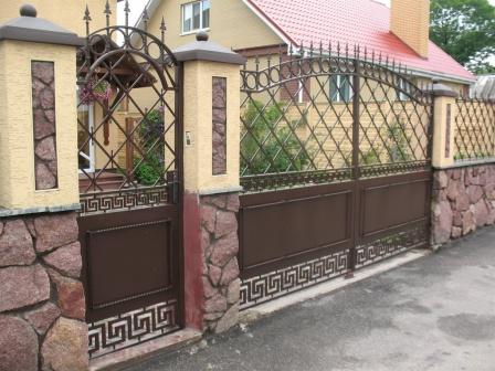 Ковані ворота (В-141)