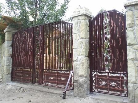 Ковані ворота (В-97)