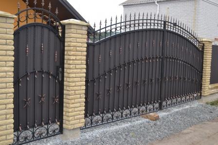 Ковані ворота (В-163)