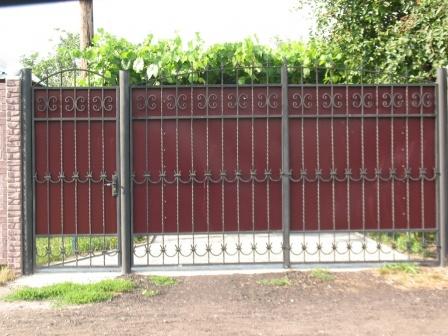Ковані ворота (В-116)