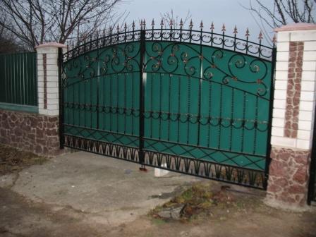 Ковані ворота (В-129)