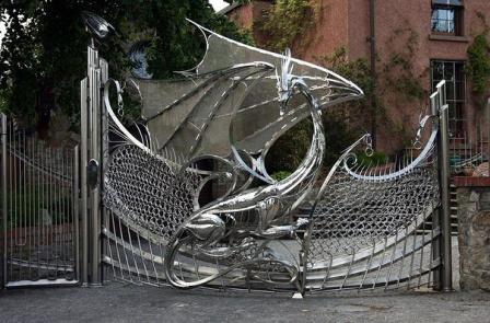 Ковані ворота (В-105)