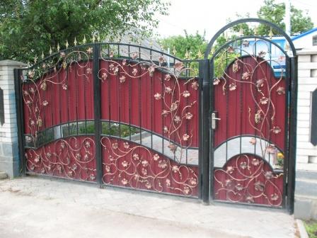Ковані ворота (В-123)