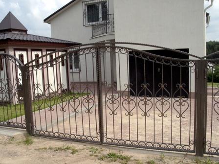 Ковані ворота (В-74)