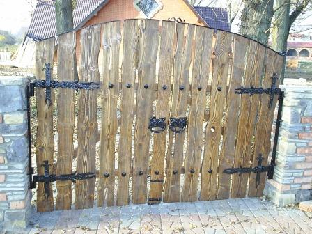 Ковані ворота (В-93)
