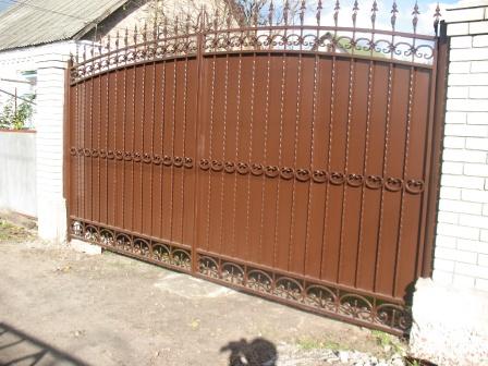 Ковані ворота (В-28)