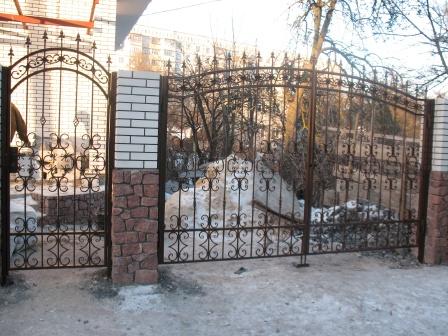 Ковані ворота (В-44)
