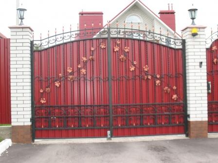 Ковані ворота (В-119)