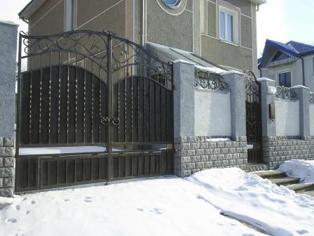Ковані ворота (В-96)