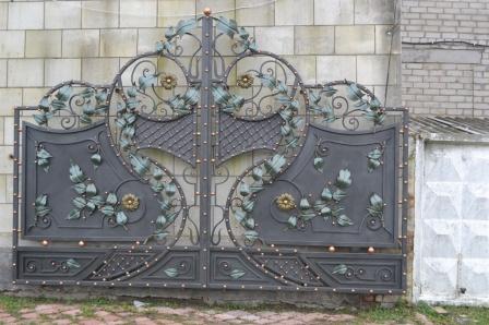Ковані ворота (В-160)